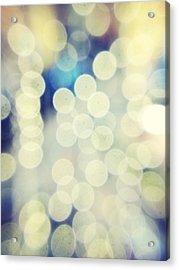 Full Frame Shot Of Defocused Lights Acrylic Print by Alex Ortega / Eyeem