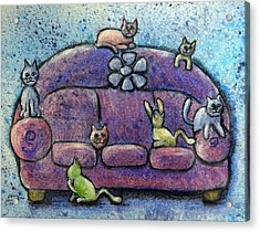 Full House Acrylic Print