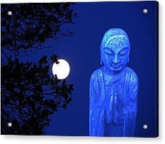 Full Moon Buddha Acrylic Print