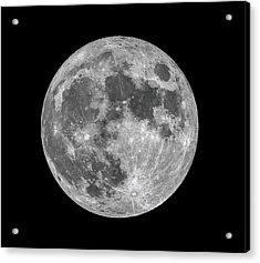 Acrylic Print featuring the photograph Full Moon by Dennis Bucklin
