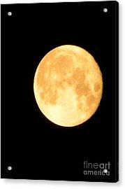 Full Moon Saturday Night Acrylic Print