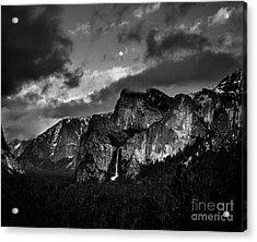 Full Moon View Acrylic Print