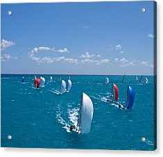 Full Sails Acrylic Print