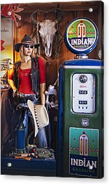 Full Service Route 66 Gas Station Acrylic Print