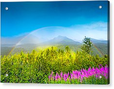 Full Spectrum Rainbow Acrylic Print