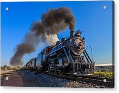 Full Steam Ahead Acrylic Print
