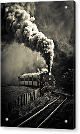 Full Steam Ahead Acrylic Print by Phil 'motography' Clark