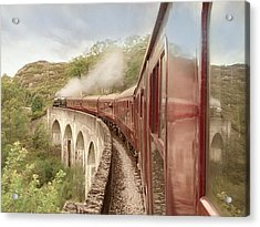 Acrylic Print featuring the photograph Full Steam Ahead by Roy  McPeak