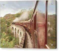Full Steam Ahead Acrylic Print by Roy  McPeak