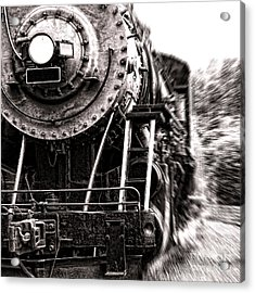 Full Steam Acrylic Print by Olivier Le Queinec