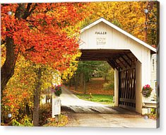 Fuller Covered Bridge Acrylic Print