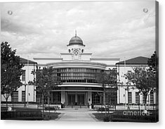 Fullerton College Library Acrylic Print by University Icons