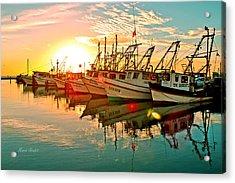 Fulton Harbor Acrylic Print