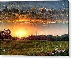Fumc Sunset Acrylic Print