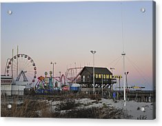 Fun At The Shore Seaside Park New Jersey Acrylic Print