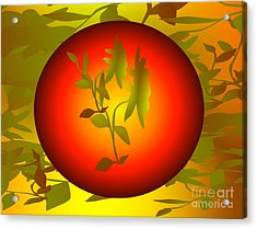 Fun In The Sun Acrylic Print by Gayle Price Thomas