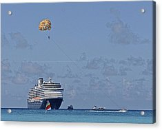 Fun In The Sun - Ship At Anchor Acrylic Print