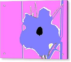 Fun Jack Flower Acrylic Print