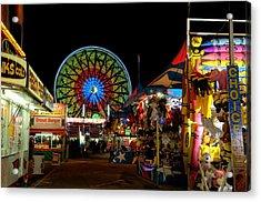Fun Night At The Fair Acrylic Print