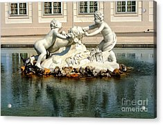 Acrylic Print featuring the photograph Fun On The Water by Mariola Bitner