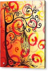 Fun Tree Of Life Impression II Acrylic Print by Irina Sztukowski