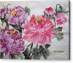 Fun030914-529 Acrylic Print by Dongling Sun