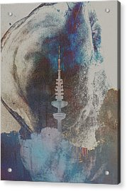 Funkturm Acrylic Print by Peter Norden