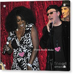 Acrylic Print featuring the photograph Funky Fun With Ladya White And Lloyd Jones by Tonia Noelle