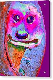 Funky Meerkat Tunnel Art Print Acrylic Print