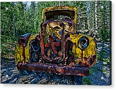 Funky Truck Acrylic Print by Craig Brown