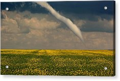 Funnel Clouds Acrylic Print by Larry Trupp