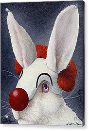 Funny Bunny... Acrylic Print by Will Bullas