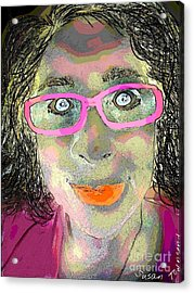 Funny Face Acrylic Print by Susan Townsend