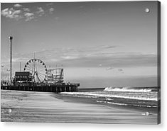 Funtown Pier Seaside Heights New Jersey  Acrylic Print