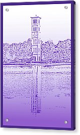 Furman Bell Tower Acrylic Print