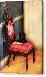 Furniture - Chair - Ready For The Ball Acrylic Print by Mike Savad