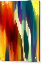 Fury 3 Acrylic Print by Amy Vangsgard