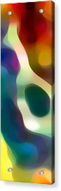 Fury Panoramic Vertical 2 Acrylic Print by Amy Vangsgard