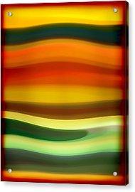 Fury Sea 6 Acrylic Print by Amy Vangsgard