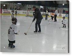 Future Hockey Players Acrylic Print