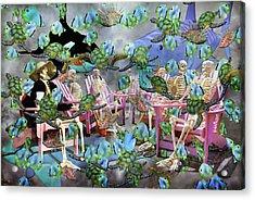 Future Of The Sea Committee  Acrylic Print by Betsy Knapp