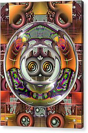 Future Retro Acrylic Print by Wendy J St Christopher