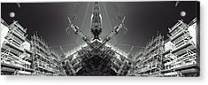 Futuristic Construction And Industry Acrylic Print