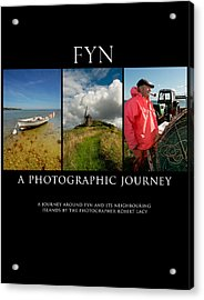 Fyn Book Poster Acrylic Print by Robert Lacy