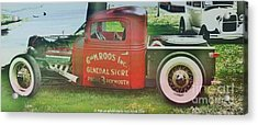 G And M Roos Inc. Acrylic Print by PainterArtist FIN