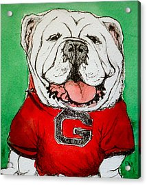 G Dawg Acrylic Print by Pete Maier