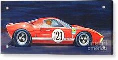 G T 40 Acrylic Print by Robert Hooper