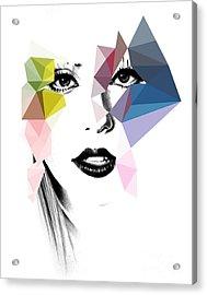 Ga Ga Acrylic Print by Mark Ashkenazi