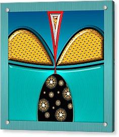 Gabriel Acrylic Print by Wendy J St Christopher