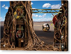 Gagilus Time Dream Acrylic Print by Franziskus Pfleghart